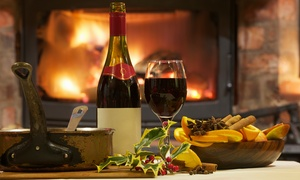 Hotel Capos: Bottle of Wine and Sharing Platter for Two or Four at Hotel Capos (Up to 46% Off)