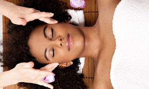Salon Rhapsody: Therapeutic Massage with Optional Facial at Salon Rhapsody (Up to 51% Off)