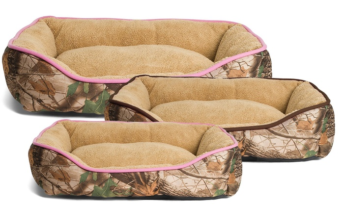 Well-liked Oakwood Mountain Camouflage Pet Bed | Groupon KR45
