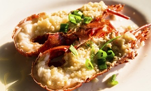 Lobster Cave: From $79 for a Three-Course Lunch with Wine for Two People at Lobster Cave (From $214 Value)