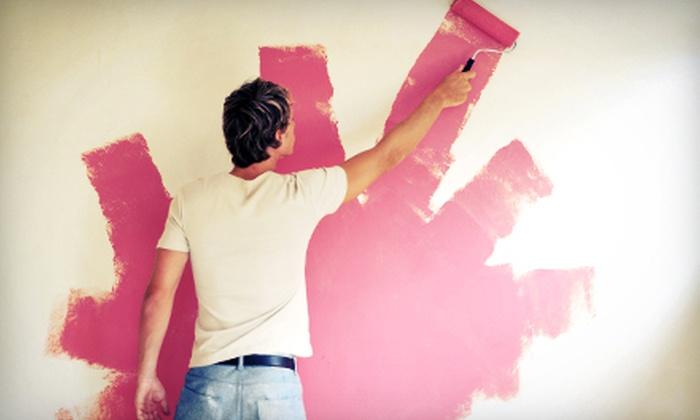 Brush Design - Fort Worth: $95 for Room Painting from Brush Design ($300 Value)