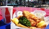 Captain's Cove - Black Rock Harbor: Fish and Chips for Two or Four with Soft Drinks at Captain's Cove (Up to 44% Off)