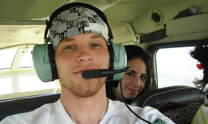 Orient Flight School - Homestead General Aviation Airport: $167 for a Discovery Flight Lesson Package at Orient Flight School ($400 Value)