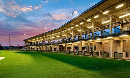 Range Balls, Golf Lessons, or Custom Club Fit at Valley Golf Center (Up to 47% Off). Five Options Available.