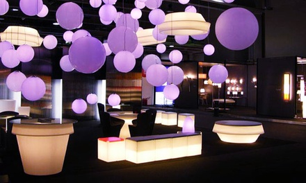 $299 for $598 Worth of Light-Up Furniture Rentals from Turn It On Events