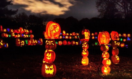 $16 to Visit Rise of the Jack O'Lanterns (Up to $26 Value). 10 Entry Times Available.
