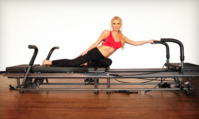 Pilates Plus - Multiple Locations: Three or Six Pilates Classes at Pilates Plus (Up to 68% Off)