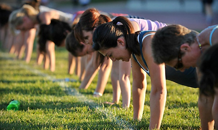 Energeia Boot Camp - Multiple Locations: 5, 10, or 15 Outdoor Boot-Camp Classes from Energeia Boot Camp (Up to 83% Off)