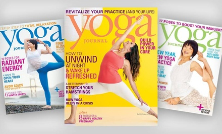 1-Year Subscription to Yoga Journal Magazine (9 Issues)