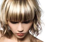 Liana at Sigal Gevojanyan: Haircut, Damage Control Masque, and Optional Full or Partial Highlights from Liana at Sigal Gevojanyan (Up to 55% Off)