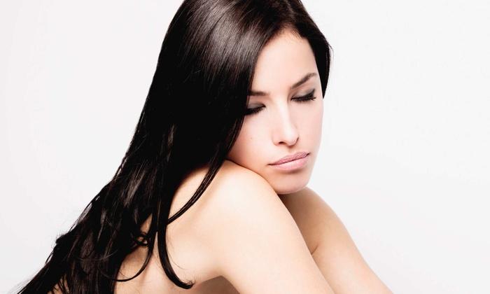 Serenity Salon & Spa - Ringgold: $119 for Two Keratin Express Hair Treatments at Serenity Salon & Spa (52% Value)
