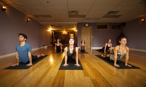 Ignite Yoga: $39 for One Month of Unlimited Yoga Classes at Ignite Yoga Center ($150 Value)