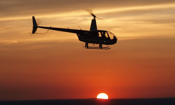 Stratus Helicopters - Stratus Helicopters: Scenic City Helicopter Tour for Two or Three from Stratus Helicopters (Up to 45% Off)