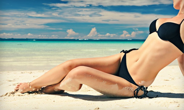 Serenity MedSpa - Downtown: $175 for Three Laser Hair-Removal Treatments at Serenity MedSpa (Up to $600 Value)
