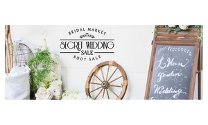 Pre Loved & Handmade Wedding Fair: Pre-Loved and Handmade Wedding Fair Entry, Belgrave Music Hall, 6 November (Up to 39% Off)