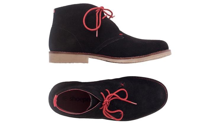 wildleder chukka herren boots groupon goods. Black Bedroom Furniture Sets. Home Design Ideas