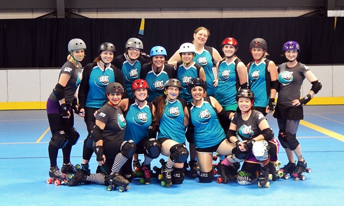 Northwest Derby Company Season 3 Bout 6 - Sk8town: One or Two Tickets to a Northwest Derby Company Roller-Derby Bout at Sk8 Town on Saturday, September 20 (Up to 56% Off)