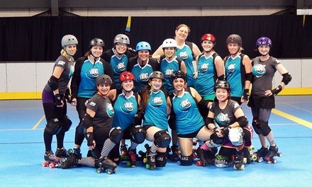 One or Two Tickets to a Northwest Derby Company Roller-Derby Bout at Sk8 Town on Saturday, September 20 (Up to 56% Off)