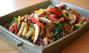 Seoul Korean Restaurant: Korean Food for Two or Four at Seoul Korean Restaurant (43% Off)