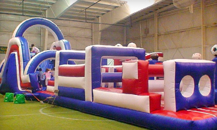 Southern Maine Sports Zone - Pine Point: 4 or 10 Bounce-House Visits, or One Year of Unlimited Visits at Southern Maine Sports Zone in Saco (Up to 62% Off)