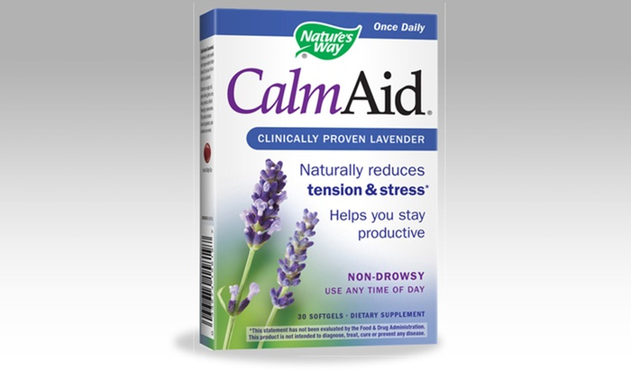 Calm Aid Supplement: $22.99 for a 2-Pack of Nature's Way CalmAid Tension Reducer ($39.98 List Price). Free Shipping.