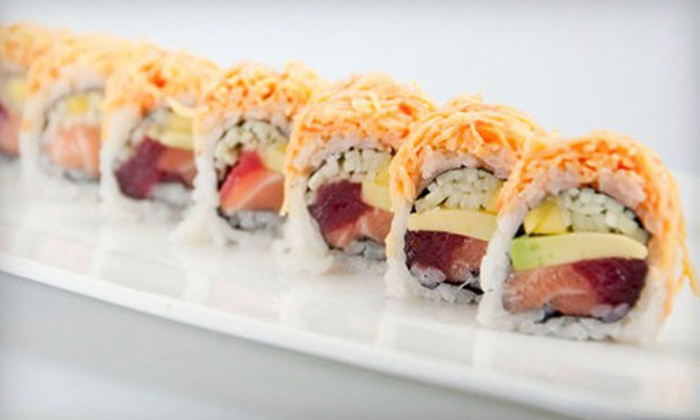 Green Ginger - Multiple Locations: Sushi and Asian Food at Green Ginger (Half Off). Two Options Available.