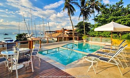 Ilhabela/SP: 1, 2, ou 3 noites para 2 pessoas + café da manhã opções em feriados no Hotel Fita Azul