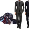 Braveman Slim Fit Suits with Free Tie in Regular Sizes