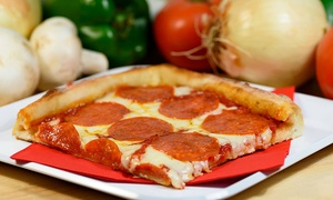 Sweet Pizza: Pizza and Drinks at Sweet Pizza (Up to 50% Off). Two Options Available.
