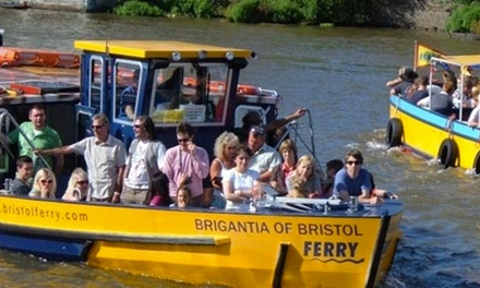 Bristol Ferryboats: All-Day Ticket for One Adult, One Adult and One Child, or a Family of Five (Up to 50% Off)