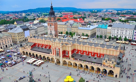 ✈ Krakow: 24 Nights at a Choice of Hotels with Return Flights*