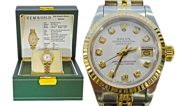2ebbd46342e Pre-Owned Rolex Watches for Men and Women