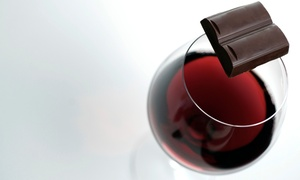 Old York Cellars: Wine and Chocolate Tasting with Souvenir Glasses for Two or Four at Old York Cellars (Up to 39% Off)