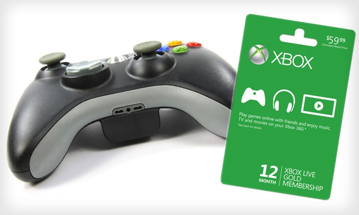 Xbox Live 12-Month Gold Membership: $45 for an Xbox Live 12-Month Gold Membership ($59.99 List Price). Free Shipping.