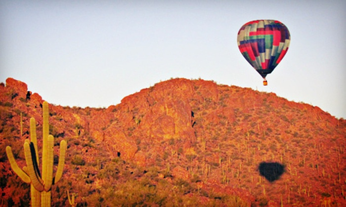 Foolish Pleasure Balloon Rides & Instruction - Tucson: One-Hour Hot-Air-Balloon Ride for One or Two from Foolish Pleasure Hot Air Balloon Rides (Up to 34% Off)