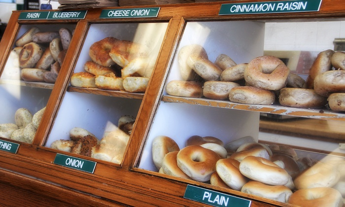 Bagel Broker - Mid-Wilshire: Two $15 Groupons for Bagels, Breakfast, and Coffee or Catered Breakfast for 10 from Bagel Broker (Up to 51% Off)