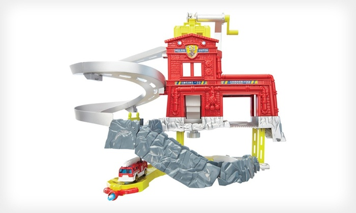 Matchbox Cliffhangers Fire Station: $14.99 for a Matchbox Cliff Hangers Fire-Station Play Set ($27.48 List Price)