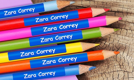 $6 for a 76Pack of Dinkleboo Personalised Mini Name Labels, Redeemable Online Don't Pay $19.99