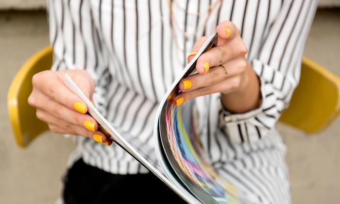Nail Spa - Burbank: No-Chip Manicure or Gel Full Set at Nail Spa (Up to 25% Off)