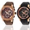 Ted Lapidus Men's Rubber Chronograph Watch