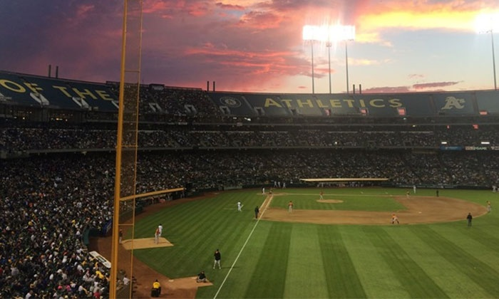 Oakland A's - Oakland-Alameda County Coliseum: Oakland A's Game on April 15, May 19, or May 30