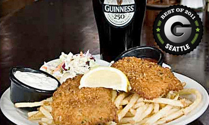 Paddy Coyne's - Downtown-Pier 70: $10 for $20 Worth of Irish Pub Fare at Paddy Coyne's