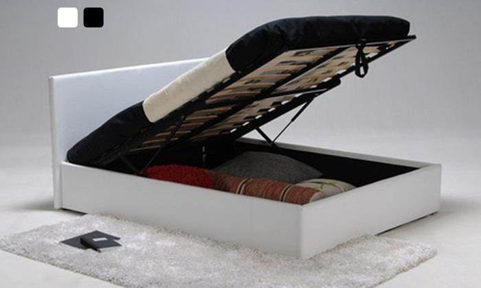 mobilier design lit coffre barcelona. Black Bedroom Furniture Sets. Home Design Ideas