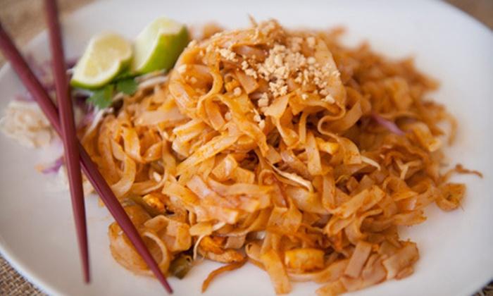 Thai Jasmine - Trinity Woods: Thai Cuisine for Lunch or Dinner at Thai Jasmine Restaurant (Half Off)