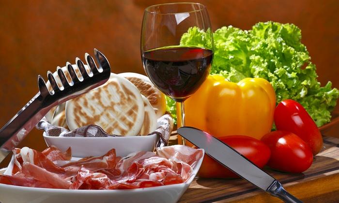 Tigella Bella - Tigella Bella: Menu con tigella e gnocco fritto all you can eat, tagliere a scelta e vino