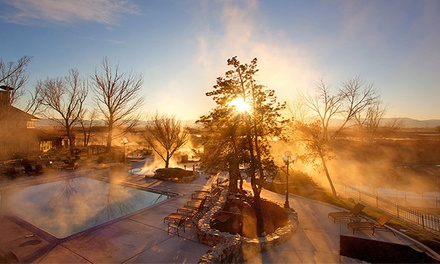 Dinner and Hot Springs for Two or Four at 1862 David Walleys Restaurant, Saloon & Hotsprings Resort (33% Off)