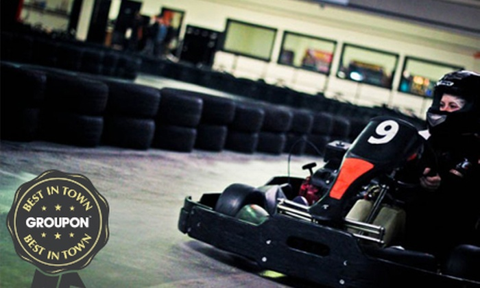 Galway City Karting - Galway: Karting Experience for €9 at Galway City Karting (55% Off)