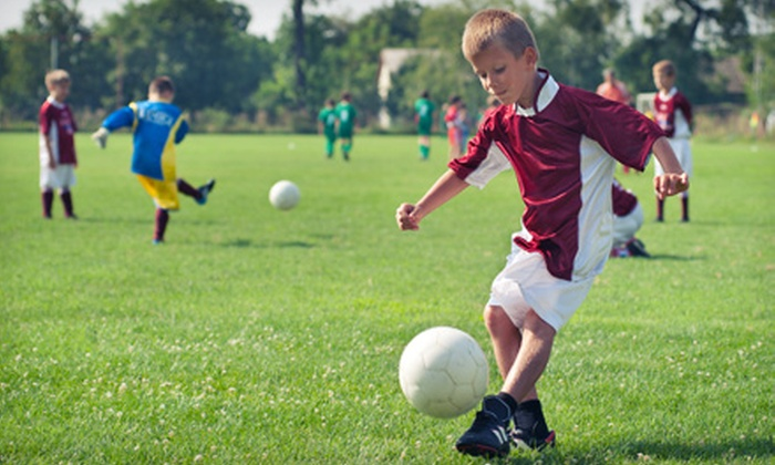World Soccer Academy - N Winnipeg: $97 for a Five-Day Soccer Camp for Kids Aged 9–16 at World Soccer Academy ($195 Value)