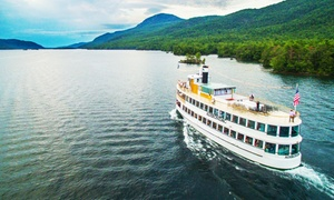 Up to 43% Off a Lake George Sightseeing Cruise at Lake George Shoreline Cruises, plus 6.0% Cash Back from Ebates.