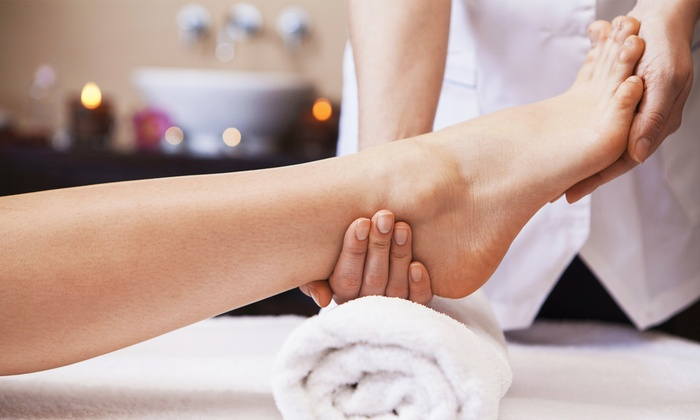Arvis at Blessed Nails - Blessed Nails: Reflexology Nail Treatments from Arvis at Blessed Nails (Up to 56% Off). Three Options Available.